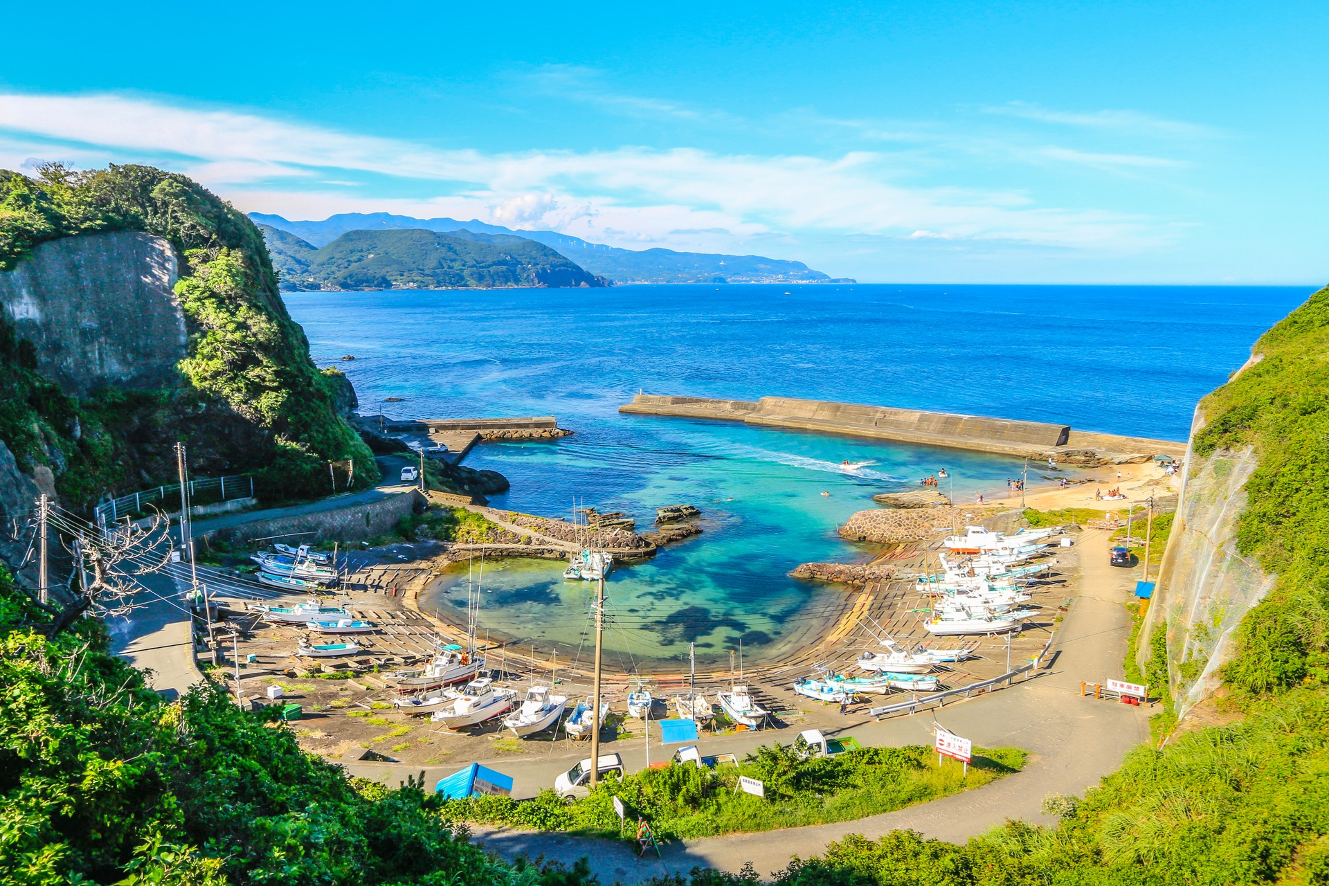 Harbour on Shimoda Cape