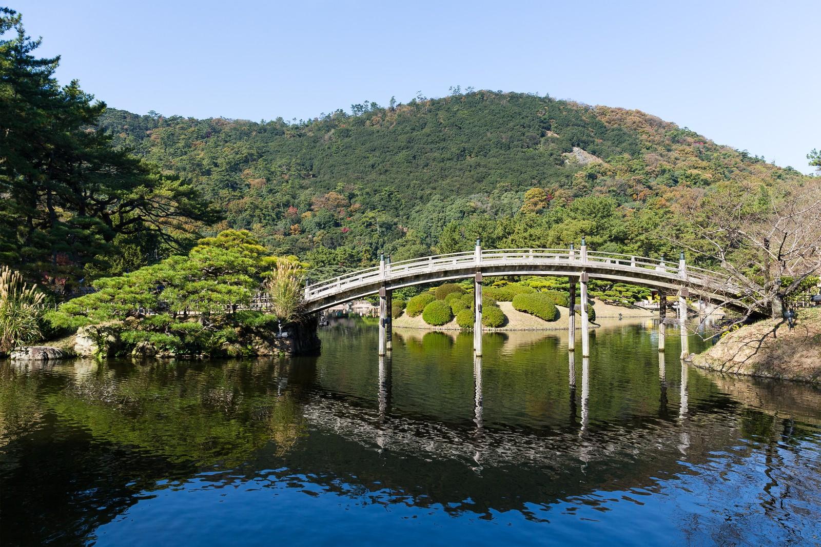 Ritsurin Koen garden, Japan