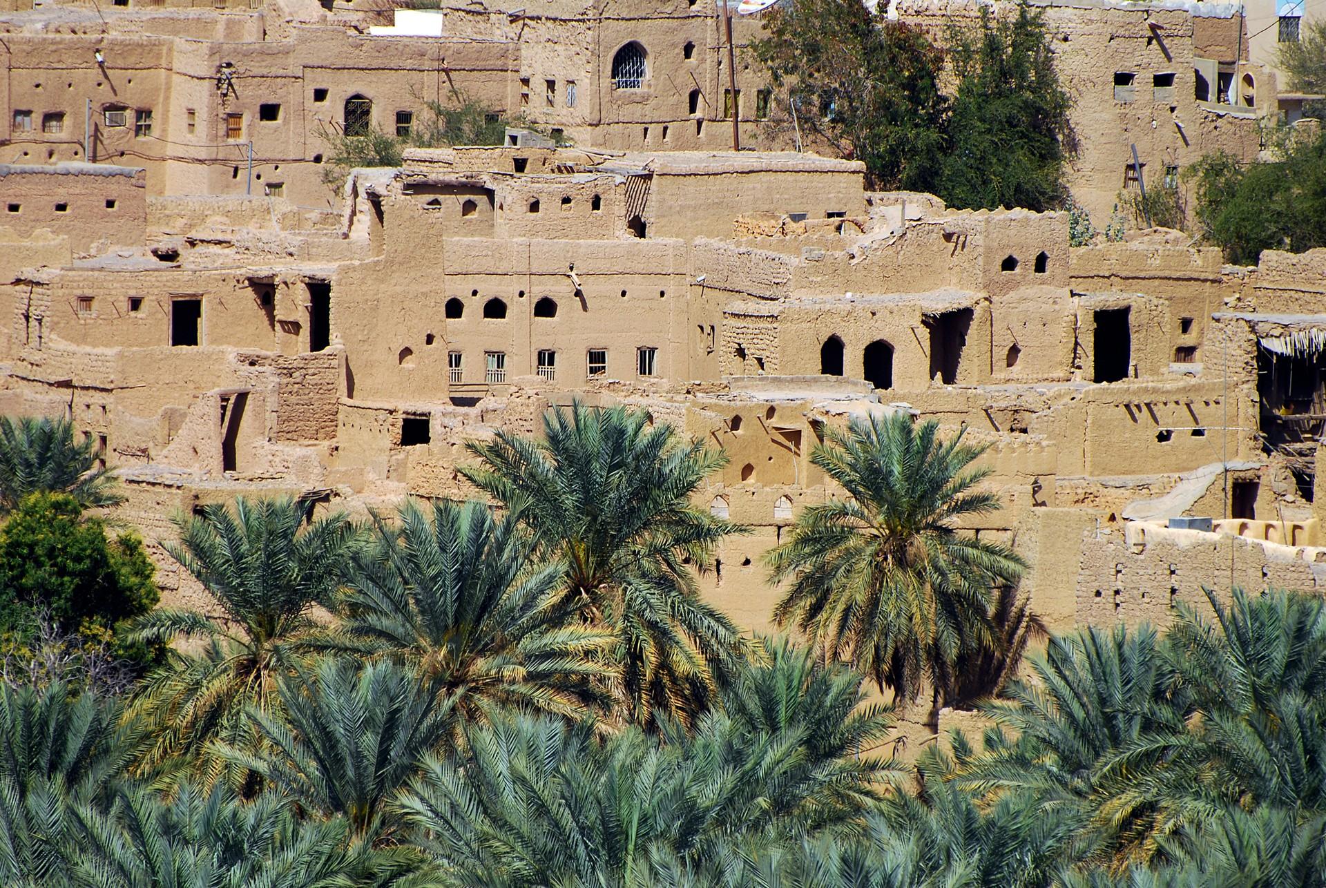 Al Hamra - ancient city in Oman