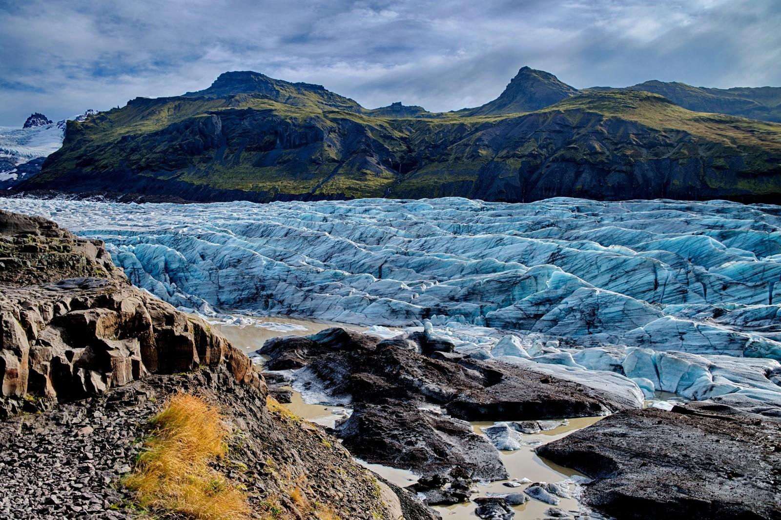 Svinafellsjokul Glacier, Iceland