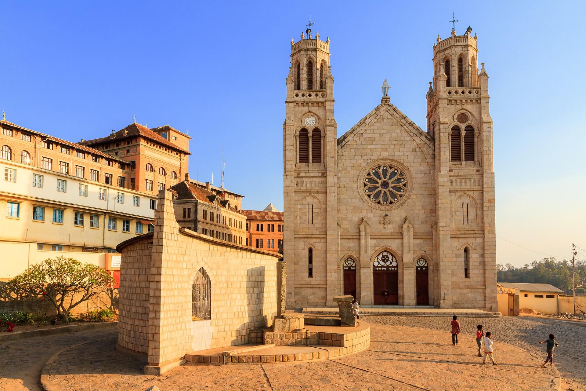 Andohalo Cathedral, Antananarivo Madagascar