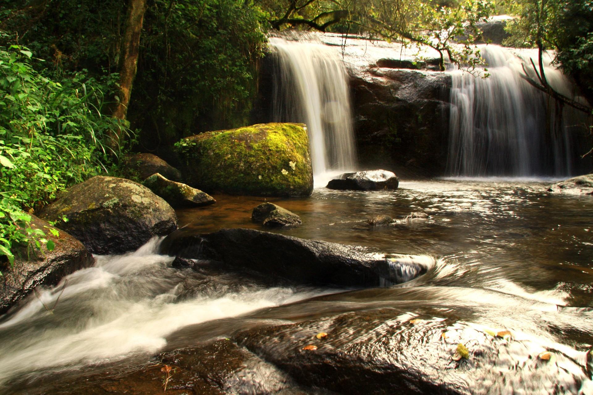 Waterfall on Malawi's Zomba plateau