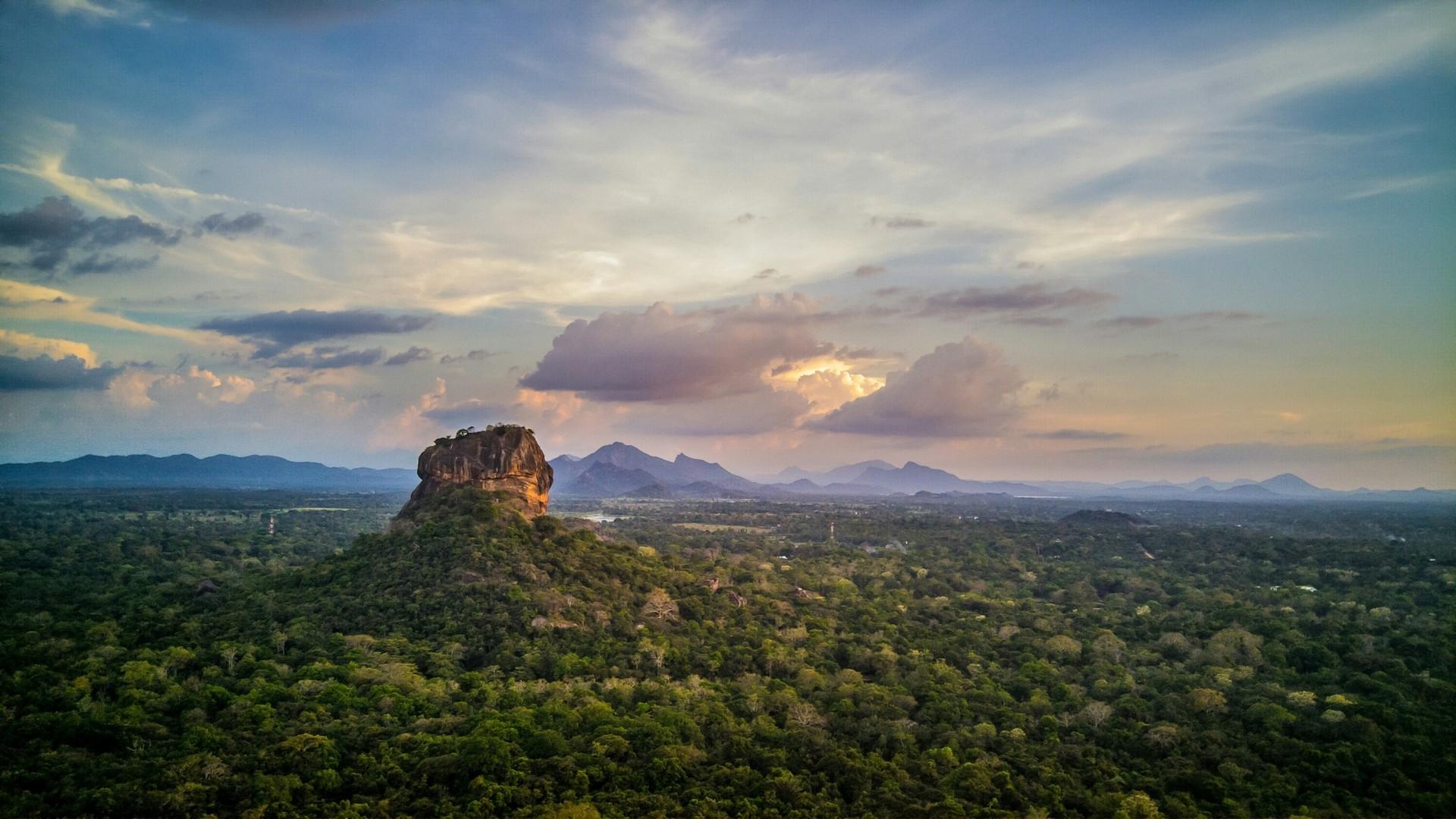 Rock fortress of Sigiriya, Sri Lanka