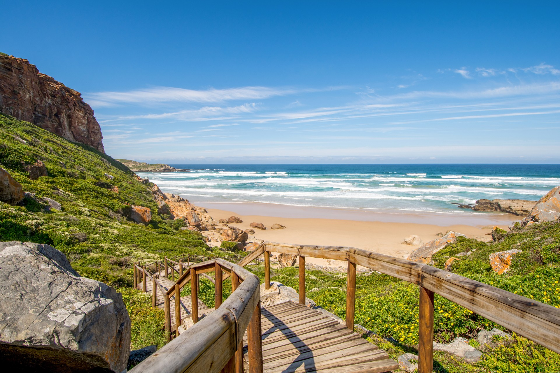 Beach at Robberg on the Garden Route