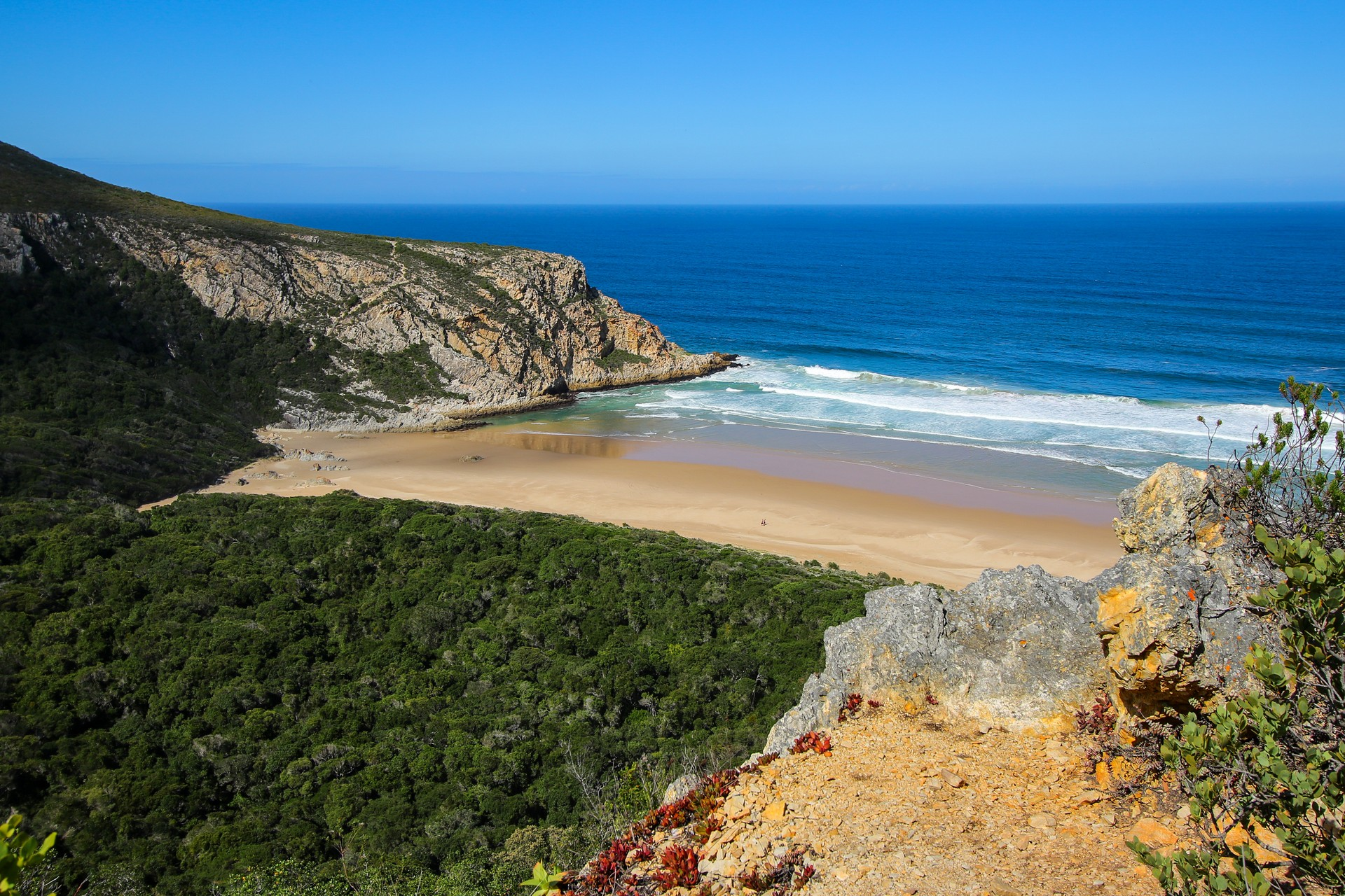 Natures Valley Beach, south africaq