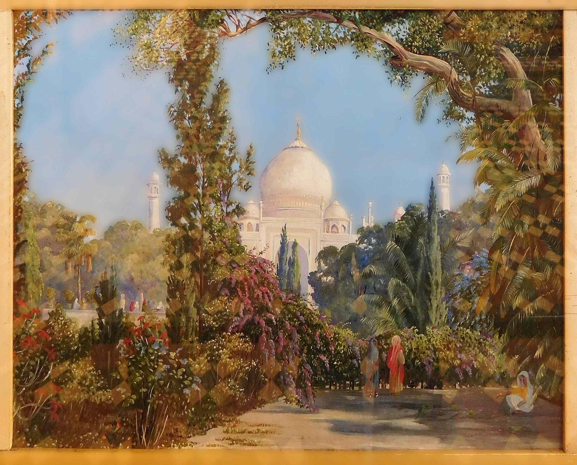 Taj Mahal in India, by Marianne North