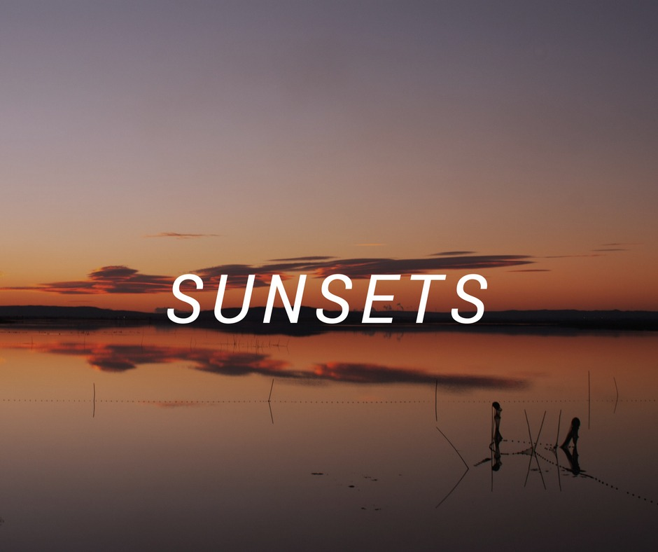 Travel destinations to enjoy great sunsets