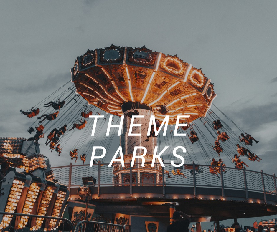 Theme Parks travel destinations