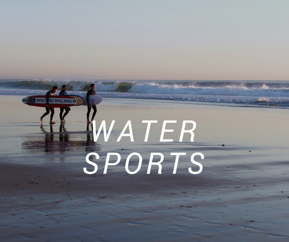 Travel destinations for Water Sports