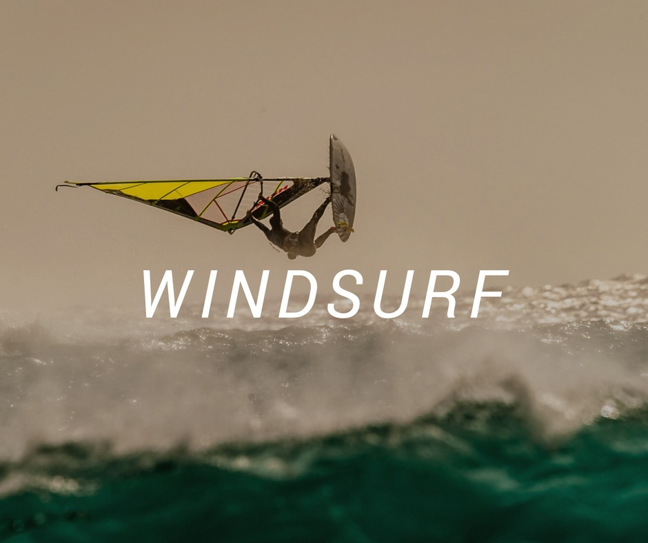 Travel destinations for Windsurf