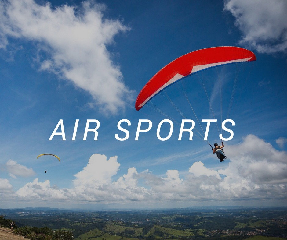 Travel destinations for air sports