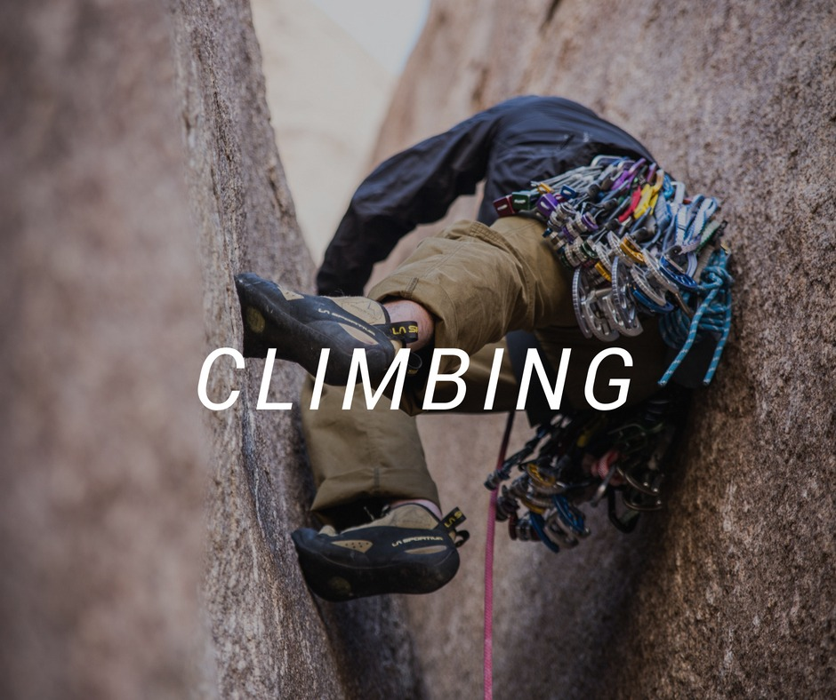 Climbing travel destinations