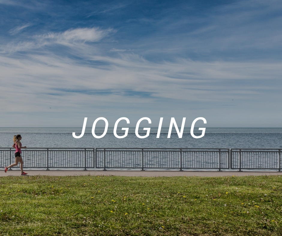 Jogging travel destinations