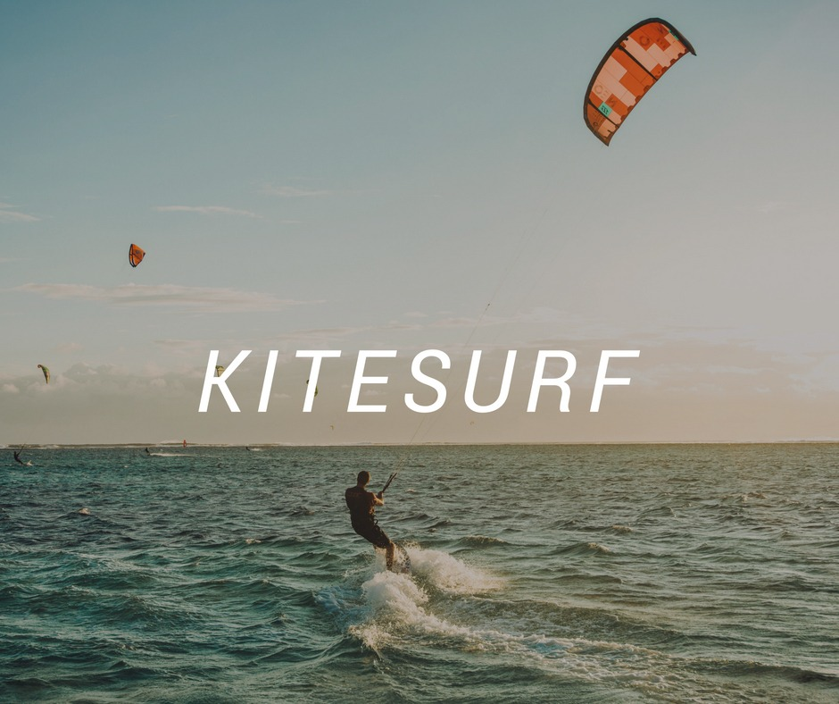 Travel destinations for Kitesurf