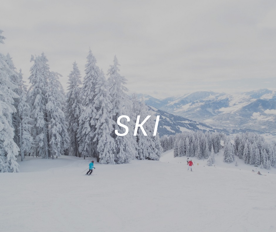 Ski travel destinations