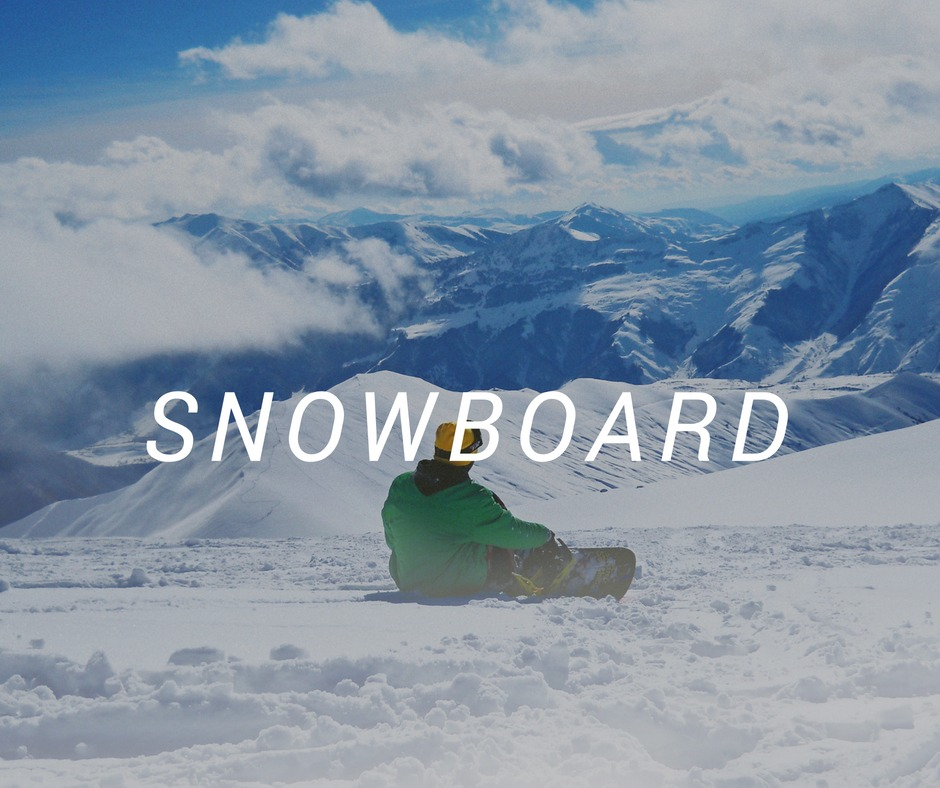 Snowboard Travel destinations