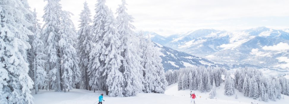 Travel destinations for skiing