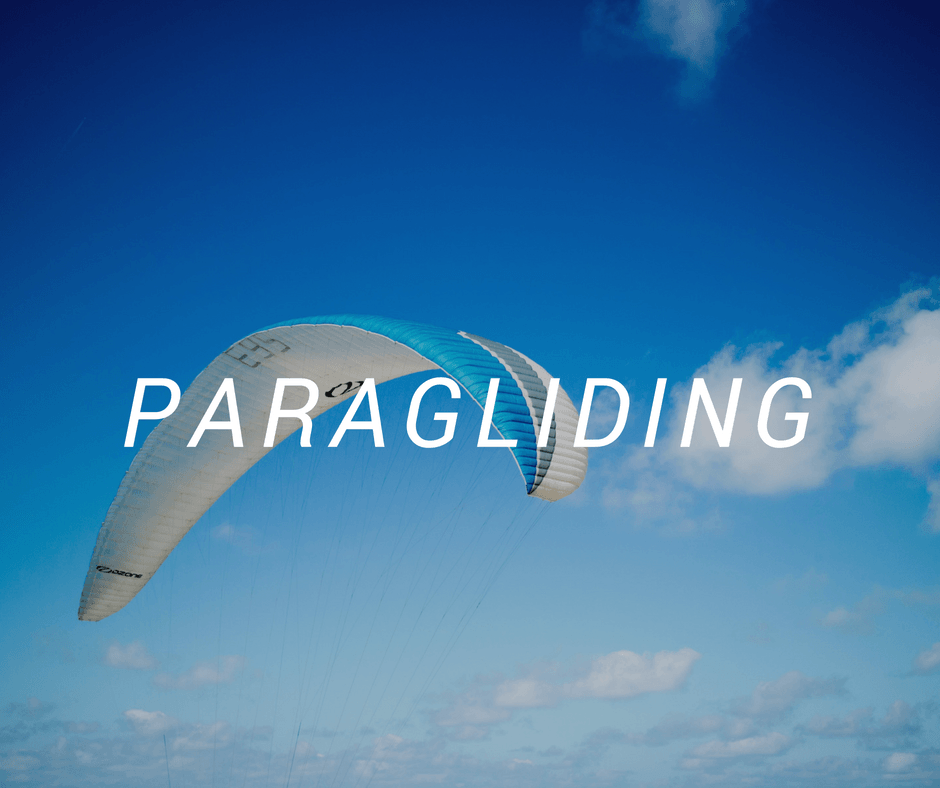 Travel destinations for paragliding