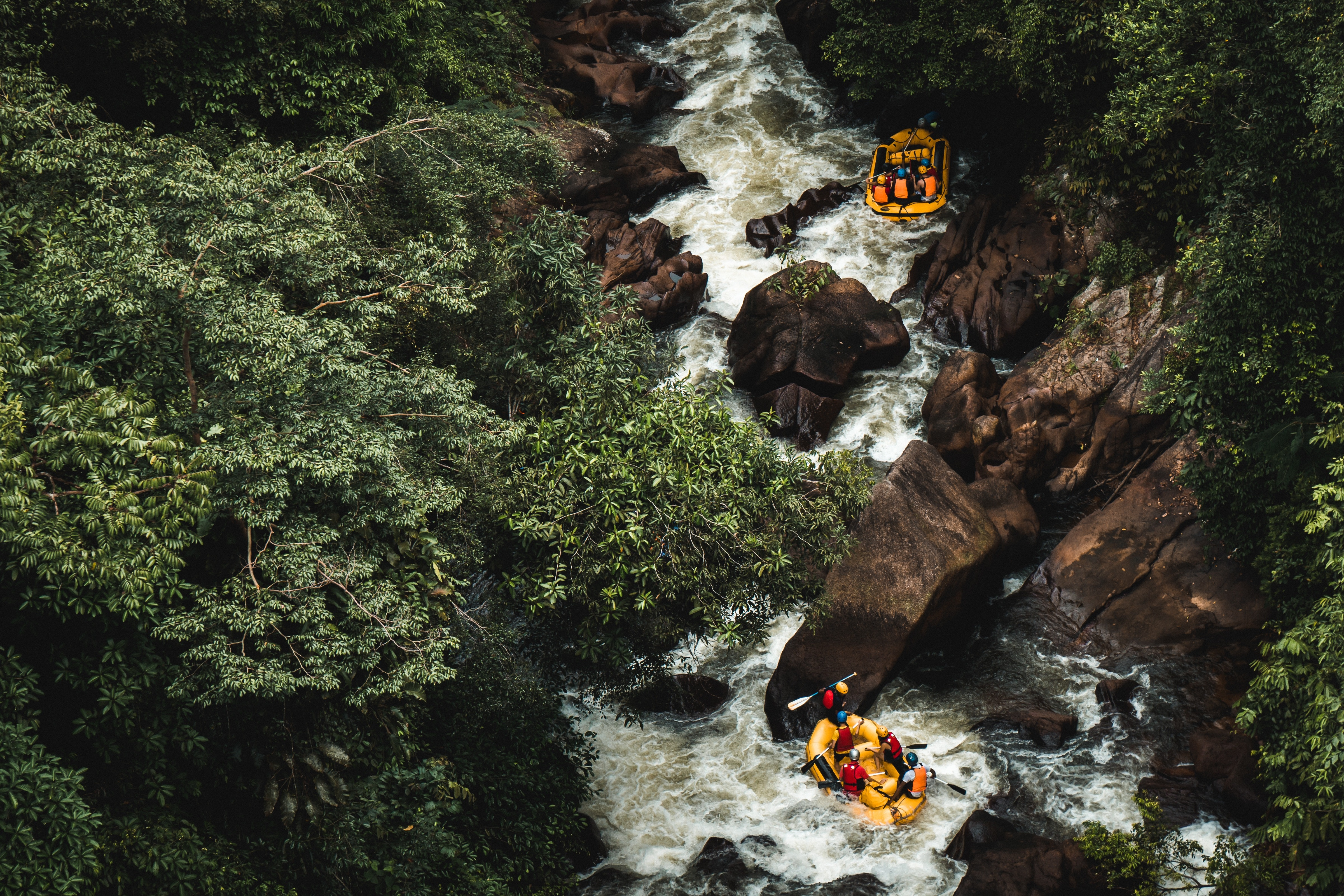 Travel destinations for Rafting