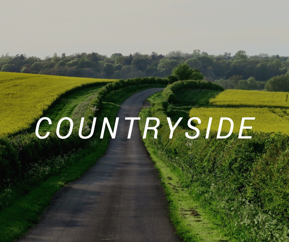 Travel destinations in the countryside