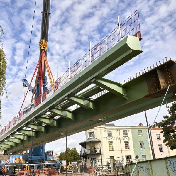 Image: Bathurst Basin MetroBus bridge
