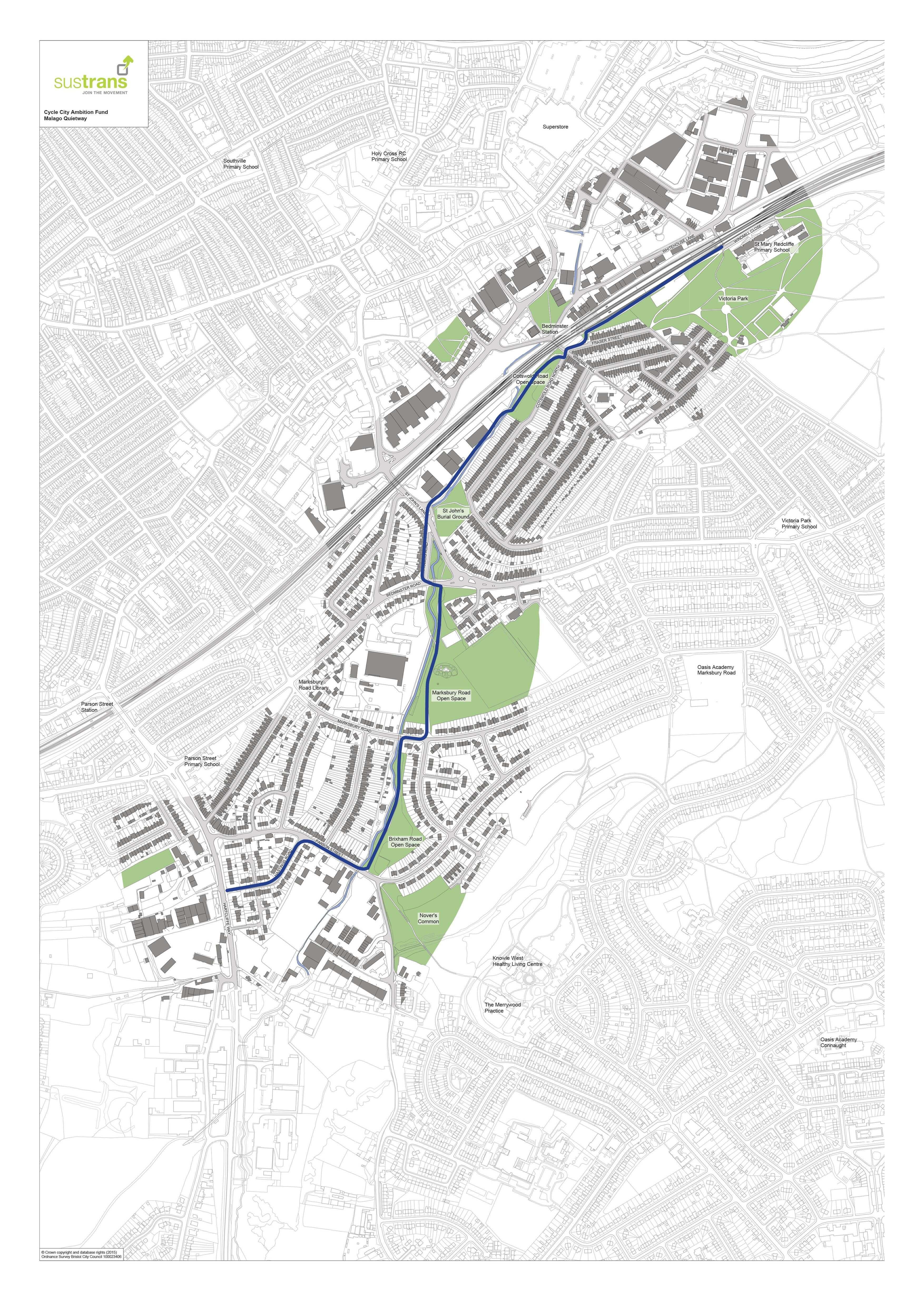 Cycle Ambition Fund 2: Malago Quietway