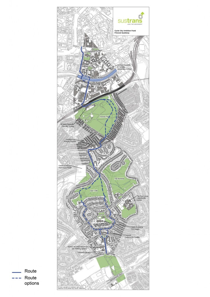 Cycle Ambition Fund 2 - Filwood Quietway