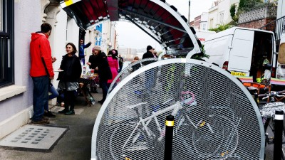Thumbnail image for Bristol residents hold street party to celebrate their bike hangar