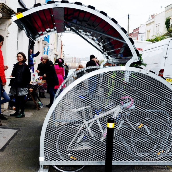 Image: Eldon Terrace Bike Hangar Celebration