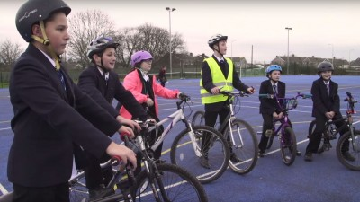 Thumbnail image for Sustainable school travel in Bath & North East Somerset picks up a gold star
