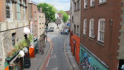 Thumbnail image for Have your say on Bristol city centre Trenchard Street improvements