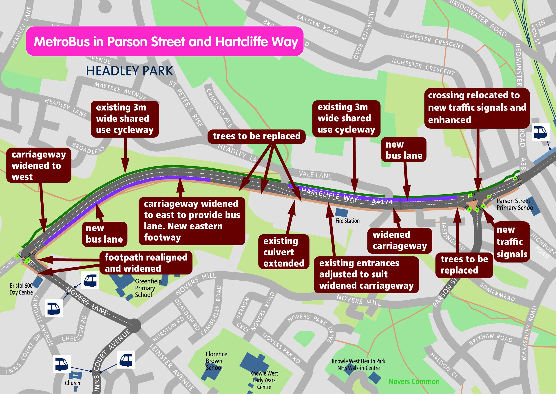 Metrobus Hartcliffe Way