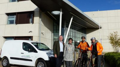 Thumbnail image for South Gloucestershire Council adds another sustainable electric vehicle to fleet