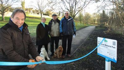 Thumbnail image for New path in Keynsham Memorial Park completes circular walk