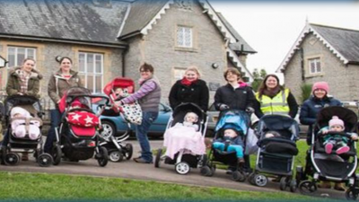 Thumbnail image for FREE buggy walk from Lyde Green 22nd Feb and 1st March