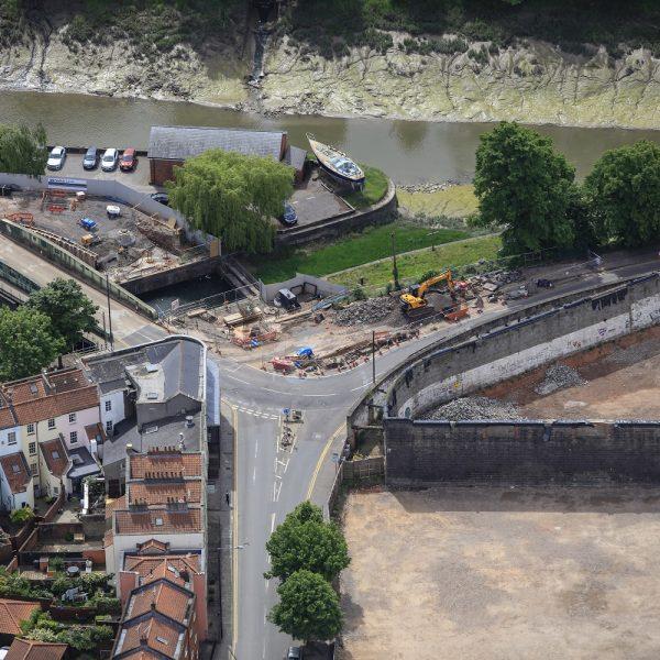 Image: New bridge at Bathurst Basin