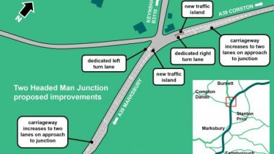 Thumbnail image for £500,000 scheme to improve traffic flow on A39