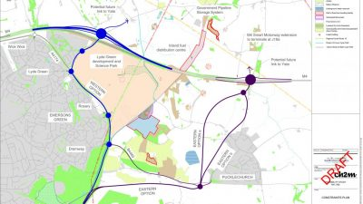 Thumbnail image for Junction 18a proposals to link the M4 with the A4174 ring road