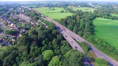 Thumbnail image for Bromley Heath Viaduct essential maintenance work begins on 24 July