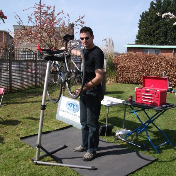 Image: Travelwest Roadshow DR Bike Taylored Cycles 28.03.2012