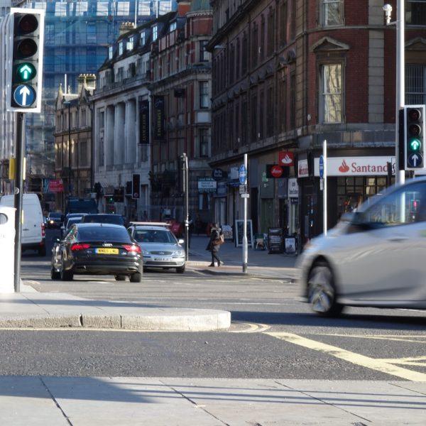 Image: City centre: cars