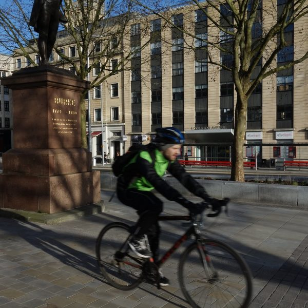 Image: City centre: cycling