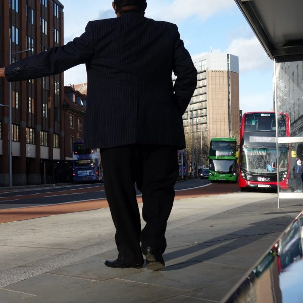 Image: City centre: New bus stops