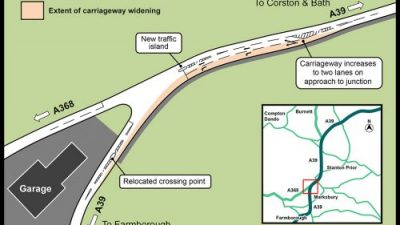 Thumbnail image for Additional A39 improvement works completed to keep traffic moving