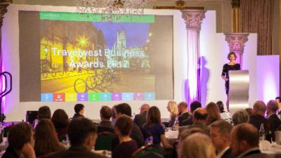 Thumbnail image for Nominations now open for Travelwest Business Awards 2018