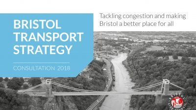 Thumbnail image for Have your say on the new Bristol Transport Strategy