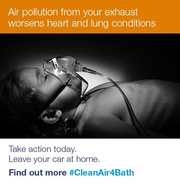 #CleanAir4Bath Bath & North East Somerset Council Campaign