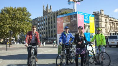 Thumbnail image for Campaign launched to celebrate 75-mile cycle network across Bristol