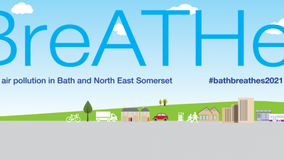 Thumbnail image for Bath & North East Somerset residents, schools and businesses get involved in Clean Air Day