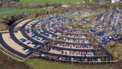 Thumbnail image for New coach park officially opens at Odd Down Park & Ride